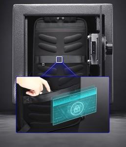 Рюкзак из натуральной кожи для ноутбука 15.6 BOPAI 61-69711 карман антивор
