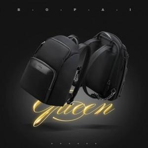Рюкзак женский деловой BOPAI 62-19321 черный мода 2020-2021