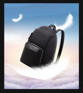 Рюкзак женский деловой BOPAI 62-19321 черный весит всего 700 грамм