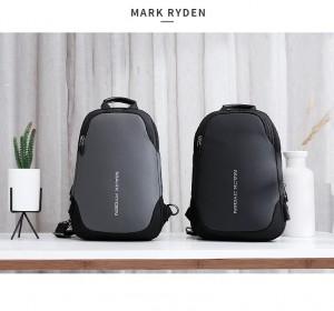 Рюкзак через плечоMark Ryden MR7056 серый и черный в сравнении