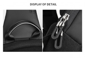 Рюкзак через плечоMark Ryden MR7056 эргономичная ручка, YKK молнии