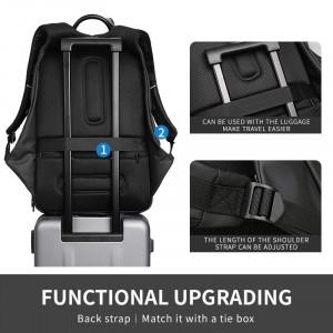 Рюкзак дорожный Mark Ryden MR7080D легко крепится на чемодане, лямки регулируются