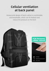 Городской рюкзак для ноутбука Mark Ryden MR9306 дышащая спинка рюкзака