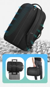 Рюкзак дорожный мужской Mark Ryden MR9288 трансформируется в сумку