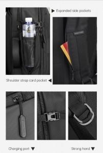 Рюкзак дорожный мужской Mark Ryden MR9288 полезные функции