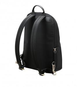 Женский деловой рюкзак 62-16921 черный спинка рюкзака