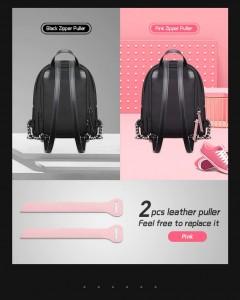 Мини рюкзак женский BOPAI 62-20031 черный спинка рюкзака