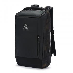 Рюкзак дорожный OZUKO 9060L камуфляж фото вполоборота