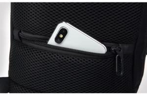 Мужской однолямочный рюкзак OZUKO 9223L  потайной карман
