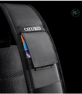 Рюкзак однолямочный OZUKO 9315 карман для карт