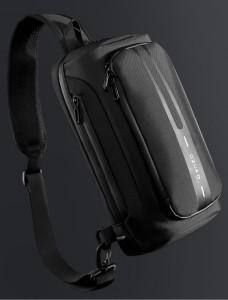 Рюкзак однолямочный OZUKO 9315 черный