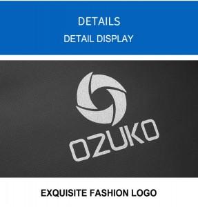 Рюкзак однолямочный мужской OZUKO 9078 светоотражающий логотип