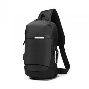 Рюкзак однолямочный OZUKO 9262 черный