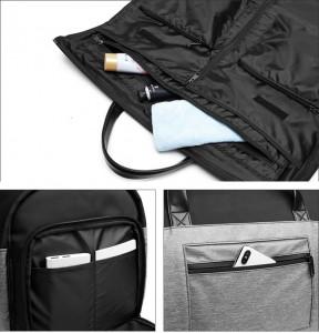 Сумка-рюкзак трансформер OZUKO 9288 фото карманов, деталей