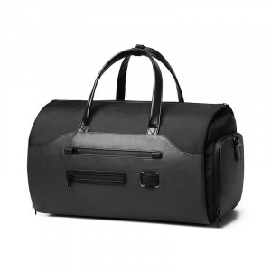 Дорожная сумка-рюкзак Ozuko 9288 черная