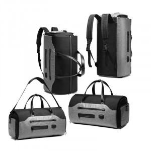 Дорожная сумка-рюкзак Ozuko 9288 варианты ношения сумки