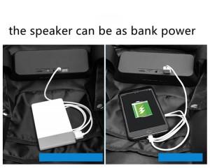 Каркасный рюкзак Ozuko 9205 в рюкзак можно установит динамик