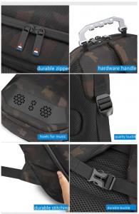 Каркасный рюкзак Ozuko 9205 фото деталей и фурнитуры