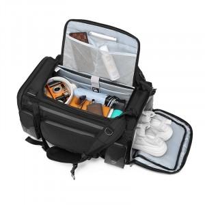 Большая спортивная сумка-рюкзак OZUKO 9326 пустое заполненное основное отделение