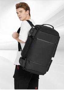 Большая спортивная сумка-рюкзак OZUKO 9326 на плече