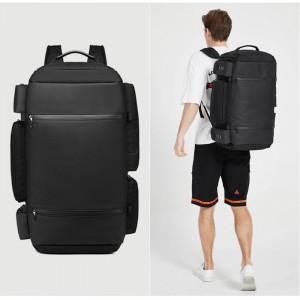 Большая спортивная сумка-рюкзак OZUKO 9326 как рюкзак
