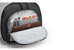 Дорожная сумка для костюма OZUKO 9209 дополнительное отделение сбоку