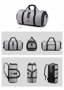 Дорожная сумка для костюма OZUKO 9209 серая для сравнения