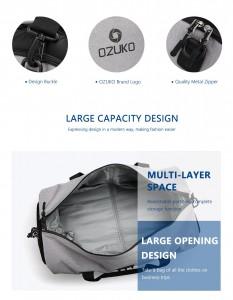 Дорожная сумка для костюма OZUKO 9209 вместительное основное отделение