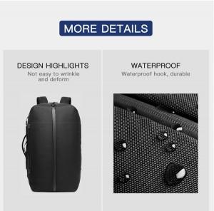 Бизнес сумка - рюкзак ozuko 9291 водоотталкивающая ткань