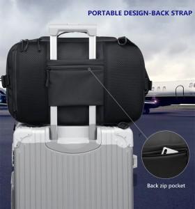 Бизнес сумка - рюкзак ozuko 9291 фиксируется на чемодане