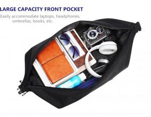 Бизнес сумка - рюкзак ozuko 9291 объемное отделение 1 для одежды