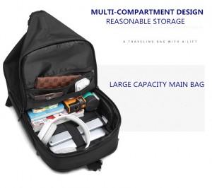 Бизнес сумка - рюкзак ozuko 9291 отделение для документов и гаджетов