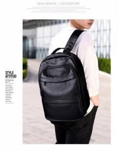 Мужской кожаный рюкзак Kangaroo Droi KS333