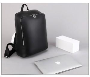 Кожаный мужской рюкзак Kangaroo Droi 68011 черный