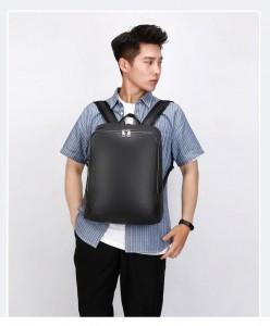 Кожаный мужской рюкзак Kangaroo Droi 68011 на модели