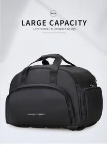Дорожная сумка-рюкзак Mark Ryden MR7091 черная