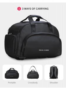 Дорожная сумка-рюкзак Mark Ryden MR7091 варианты ношения сумки