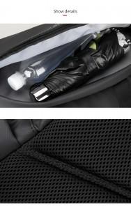 Дорожная сумка-рюкзак MR7091 карманы и особенности крупным планом