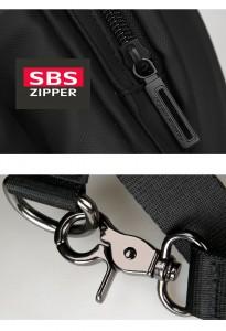 Дорожная сумка-рюкзак MR7091 фурнитура крупным планом фото2