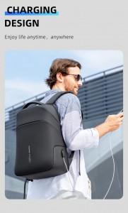 Рюкзак антивор c плащом Mark Ryden MR9068 с USB разъемом