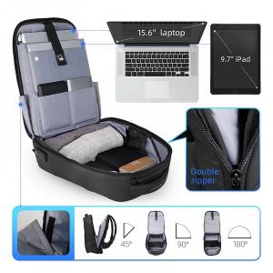Рюкзак антивор c плащом Mark Ryden MR9068 с карманом для ноутбука 15,6 и планшетом