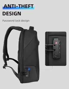 Рюкзак антивор c плащом Mark Ryden MR9068 с кодовым TSA замком