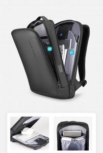 Мужской деловой рюкзак Mark Ryden MR9008SJ фото отделений