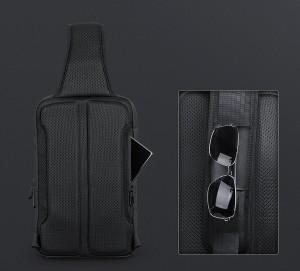 Рюкзак однолямочный Mark Ryden MR7369 черный спинка рюкзака