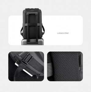 Рюкзак многофункциональный Mark Ryden MR9032 фото спинки, кармашек для карт