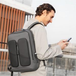 Городской непромокаемый рюкзак для ноутбука MR922 с USB разъемом