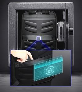 Городской рюкзак BOPAI 61-68118 потайной карман на  молнии