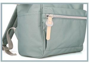 Рюкзак Himawari 1881 голубой передний карман