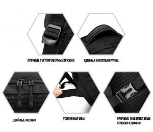 фото высококачественной фурнитуры рюкзака ozuko 9080