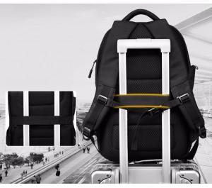 Ozuko 9080 фото ленты для крепления рюкзака на ручку чемодана